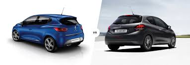 peugeot small car renault clio vs peugeot 208 french face off carwow