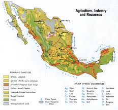 Mexico On Map by Resources Of Mexico