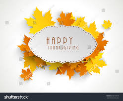 happy thanksgiving sticker tag label beautiful stock vector