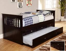 kids captain bed discovery world furniture espresso day beds with drawers or