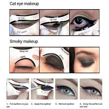 eyeliner template 28 images eye makeup stencils india makeup