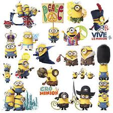 Despicable Me Decorations Minions Movie 16 Big Wall Decals Despicable Me Room Decor Stickers