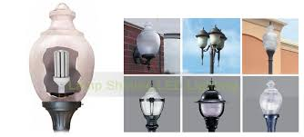 acorn street l globe led light fixtures post top fixtures retrofit kits