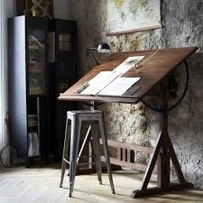 Antique Drafting Table Hardware 18 Drafting Tables In Interior Designs Interiorforlife Com