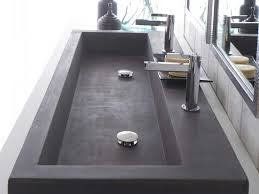 long bathroom sink with two faucets bathrooms design long bathroom sink with two faucets trough best