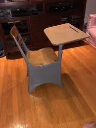 Small School Desk Antique Vintage Children S Kid S Small School Desk Wood And