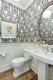 powder rooms with wallpaper modern farmhouse wallpaper floral wallpaper powder room traditional
