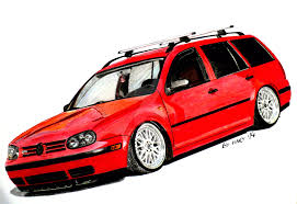 volkswagen drawing volkswagen golf mk4 variant drawing by hary1908 on deviantart