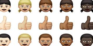 racially diverse emojis have finally arrived
