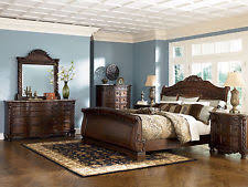 King Sleigh Bedroom Sets by Ashley Furniture B553 North Shore King Sleigh Bed 8 Pc Bedroom