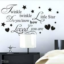 wall ideas wall decor sayings signs dctop bedroom wall decor twinkle twinkle little star vinyl wall lettering stickers quotes and sayings home art decor decals stickers kitchen wall sayings decor wall decor quotes