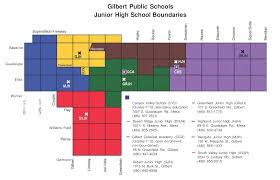 Phoenix Zoning Map by Gilbert Az Unified District Boundary Maps