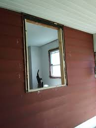blind stop for replacement window in rough opening home