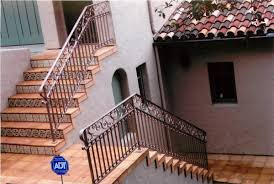 ornamental iron railings santa