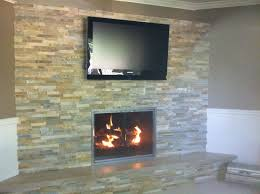 Corner Gas Fireplace With Tv Above by Our Installations The Fireplace Place Hearthstone Mansfield Center