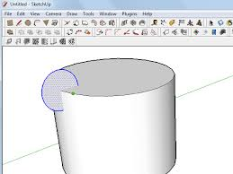 how to use the follow me tool in sketchup on a cylinder 5 steps