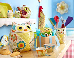 kitchen accessories and decor ideas owl themed kitchen waterfaucets