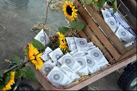 sunflower seed wedding favors seed packets sunflower envelope kraft personalized flower wedding