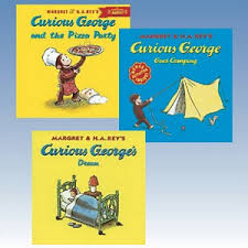 adventures curious george collection 9781608844357