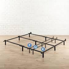 zinus heavy duty adjustable bed frame u0026 reviews wayfair