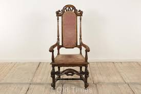 Damask Chair Old Times