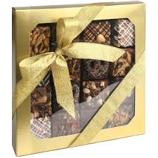 assorted gift boxes handcrafted brownies gift box assorted flavors gourmet