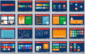 Metro Ui Style Powerpoint 2010 Template User Friendly Theme Ppt 2010