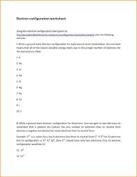Electron Configuration Worksheet Answer Key Electron Configuration Worksheet Electron Configuration Worksheet