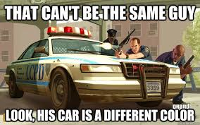 Car Guy Meme - that can t be the same guy look his car is a different color