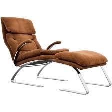 milo baughman for thayer coggin chrome lounge chair and milo baughman brass lounge chair