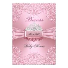 baby shower for girl princess baby shower invitations announcements zazzle