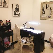 Home Salon Decorating Ideas Beautiful Decorating Ideas Nail Salon Interior Design Photos
