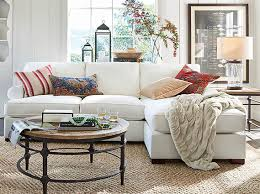 pottery barn livingroom townsend sectional classic living room pottery barn
