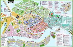 Venice Florida Map by Maps Of Venice Historic City Centre And The Lagoon Venice Travel