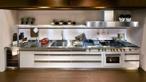 contemporary stainless steel kitchen profile handles avant garde