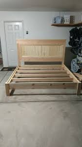 King Size Platform Bed Diy by 80 Diy King Size Platform Bed Frame Diy Pinterest King Size