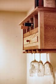 buy a handmade wall hanging wine rack bookshelf made to order