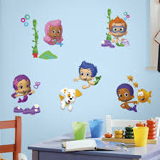 roommates rmk2404scs bubble guppies peel and stick wall decals 1