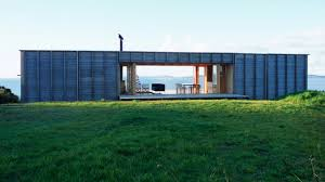 shipping container homes container like bach in coromandel youtube