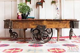 Industrial Cart Coffee Table Factory Cart Coffee Table Future Pinterest Cart Coffee Table