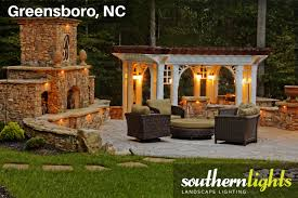 patio and pergola lighting southern lights of nc