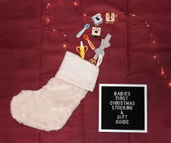 babies first christmas stocking u0026 gift guide cherrington chatter