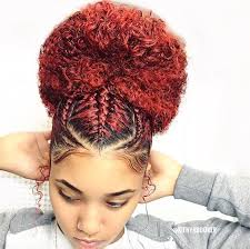Coloring Natural African American Hair Beautiful Bun Kienyabooker Https Blackhairinformation Com
