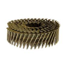 Grip Rite Collated Roofing Nails by Grip Rite 2 3 8 In 15 Degree Brite Ring Shank Nails 3 000 Per