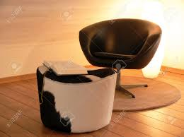 Reading Chair Reading Chair And A Cow Stool Stock Photo Picture And Royalty