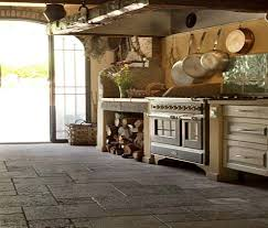 Stone Kitchen Flooring by Stone Flooring By Oiba Pillowed Limestone Marble Slate And