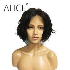 online get cheap short human lace front wigs aliexpress com