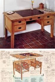 Office Desk Woodworking Plans Best 25 Desk Plans Ideas On Pinterest Build A Desk Diy Desk