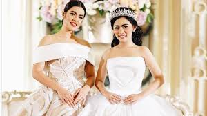 wedding dress raisa til ala princess di pernikahan vennya netizen tuding