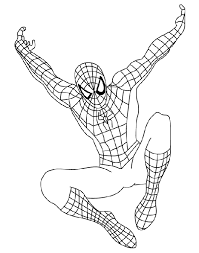 animations 2 coloring pages spiderman